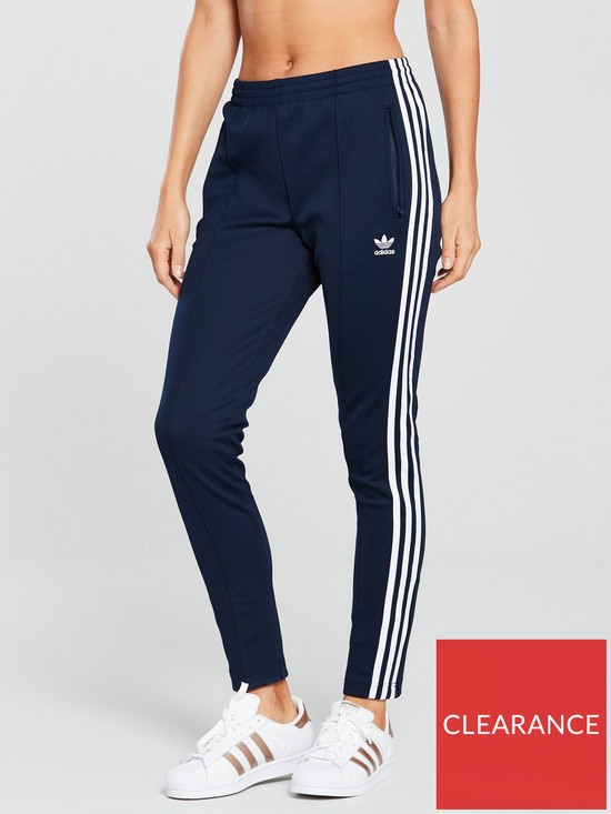 Clothing, Shoes & Accessories Activewear Useful Adidas Originals Superstar Track Pants Size Large Navy Blue Mens