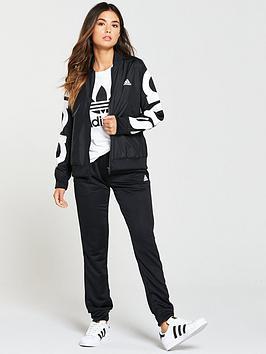 Adidas Bomber Jacket Tracksuit - Black