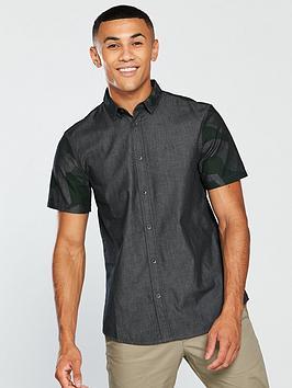 armani-exchange-camo-sleeve-shirt