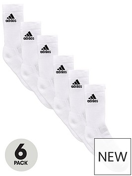 adidas-6-pack-performance-sock-whitenbsp