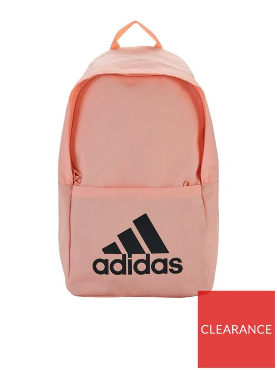 adidas Classic Backpack - Pink Black