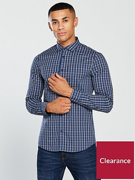 armani-exchange-ls-check-shirt