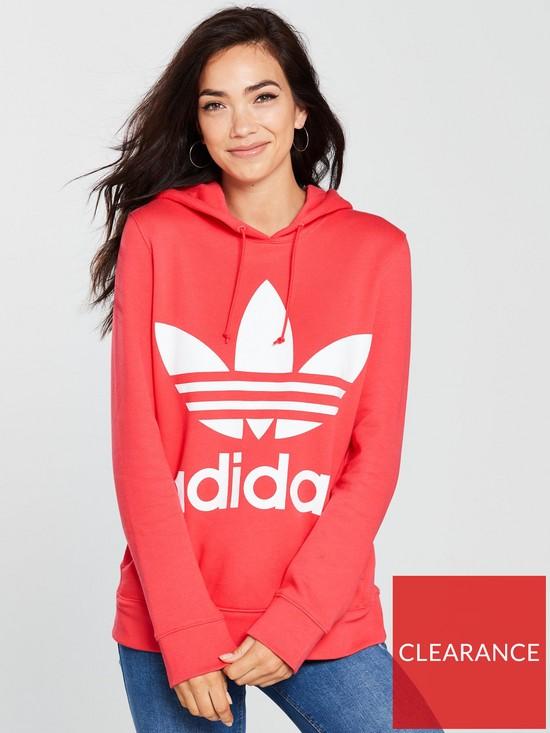 f8c2158d997fa adidas Originals Trefoil Hoodie - Pink