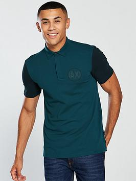armani-exchange-twotone-polo-shirt