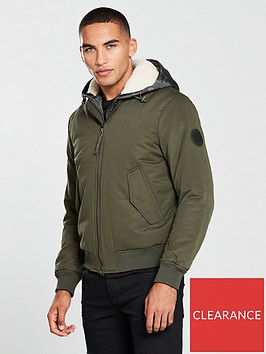 armani-exchange-hooded-bomber-jacket