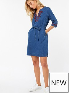 monsoon-monsoon-miley-embroidered-denim-dress