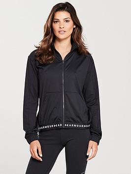 Under Armour Heatgear&Reg; Armour Full Zip Jacket - Black