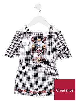 river-island-mini-girls-black-gingham-embroidered-playsuit