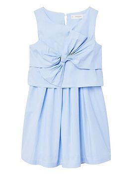 mango-girls-bow-front-dress