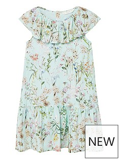 mango-girls-floral-frill-dress