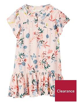 mango-girls-floral-frill-sleeve-dress