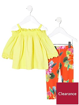 river-island-mini-girls-yellow-bardot-and-leggings-outfit