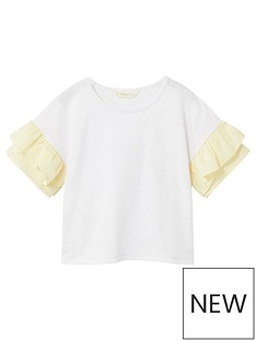 mango-girls-frill-sleeve-t-shirt
