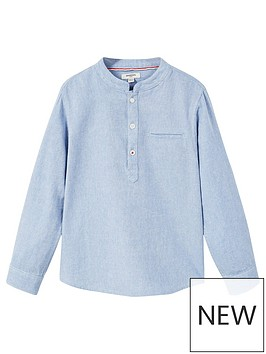 mango-boys-grandad-collar-shirt