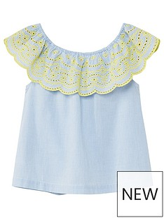 mango-girls-frill-broderie-top
