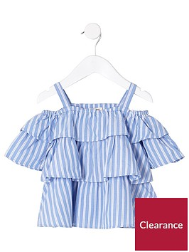 river-island-mini-girls-blue-frill-cold-shoulder-top
