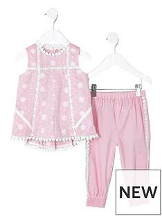 river-island-mini-girls-pink-swing-shell-top-set