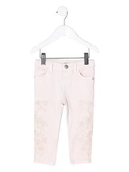 river-island-mini-girls-pink-amelie-embroidered-skinny-jea