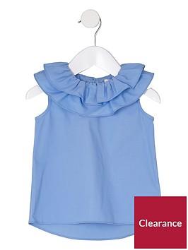 river-island-mini-girls-blue-clown-collar-sleeveless-top