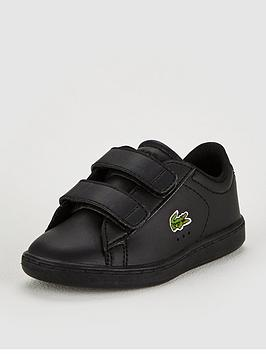 lacoste-lacoste-infant-carnaby-evo-118-strap-plimsoll