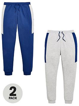 v-by-very-boys-2-pack-joggers-navygrey