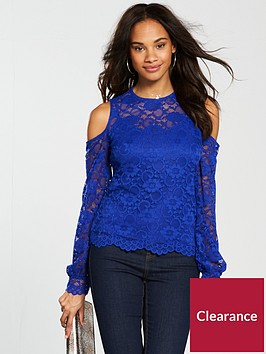 v-by-very-cold-shoulder-lace-top-blue