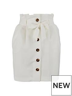 miss-selfridge-button-paperbag-skirt