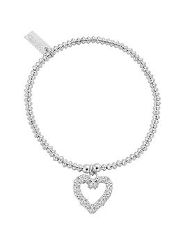 chlobo-mini-disc-flower-heart-bracelet