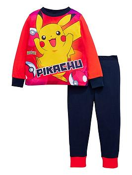 pokemon-pikachunbsppokemonnbspdesign-pyjama-set-multinbspcolour