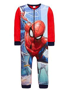 spiderman-boys-fleece-all-in-one