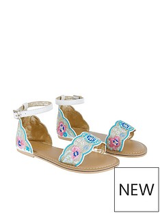 monsoon-girls-embroidered-metallic-scalloped-sandal