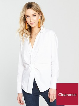 river-island-river-island-twist-front-shirt-white