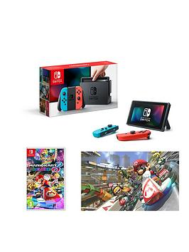 nintendo-switch-neon-red-neon-blue-console-with-mario-kart-8-deluxe