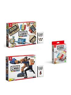nintendo-switch-labo-robot-kit-and-variety-kit-with-customisation-set
