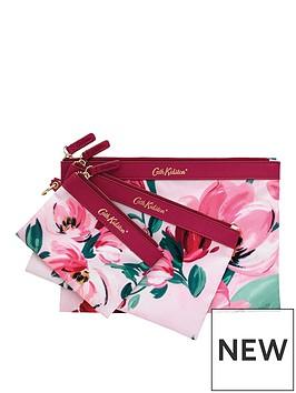 cath-kidston-cath-kidston-set-of-3-poly-floral-pouches