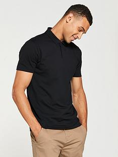 v-by-very-short-sleeved-jersey-polo