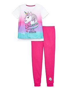 emoji-girls-emoji-unicorn-pyjamas-set