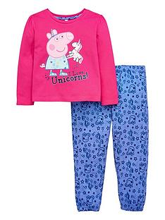 peppa-pig-unicorn-girls-pyjamas-set