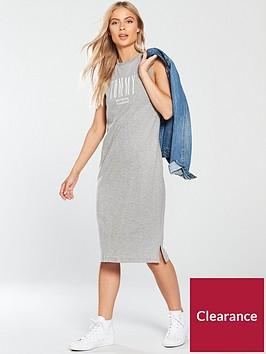 tommy-jeans-logo-tank-dress-light-grey