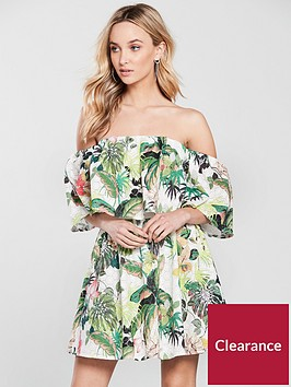 guess-luciennenbspbardot-dress-tropical