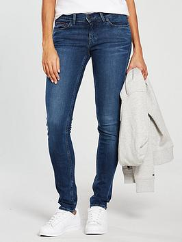 Tommy Jeans Mid Rise Nora Skinny Jean - Dark Blue