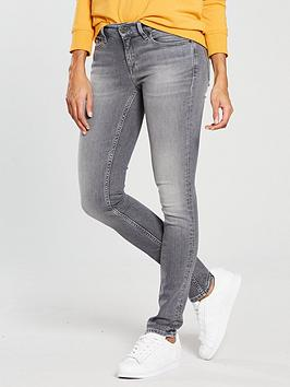 Tommy Jeans Mid Rise Nora Skinny Jean - Grey