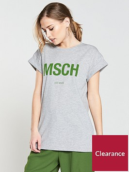 moss-copenhagan-alva-msch-est-t-shirt-light-grey
