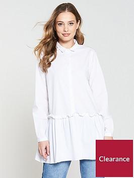 moss-copenhagan-ching-stretchnbspshirt-dress-bright-white