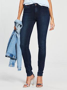 Tommy Jeans High Rise Santana Jean - Dark Blue, Dark Blue, Size 26, Women thumbnail