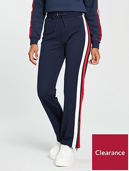 tommy-jeans-colour-blocked-zipper-striped-side-joggers-multi