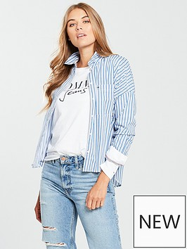 tommy-jeans-boyfriend-multi-stripe-shirt