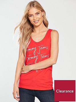 tommy-jeans-summer-script-logo-tank-top-poppy-red