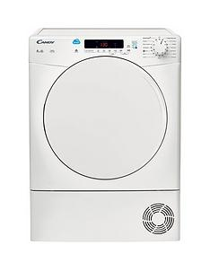 Candy CSC8DF 8kg Load Condenser Sensor Tumble Dryer with Smart Touch - White