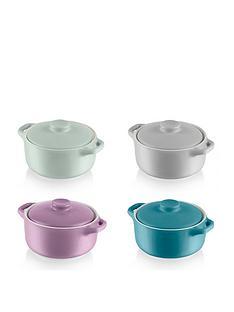 swan-4-x-mini-round-casserole-dish